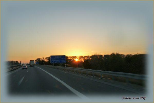 Auf dem Weg in die Pfalz